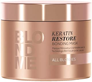 BLONDME Keratin Restore Bonding Mask for All Blondes, 6.76-Ounce