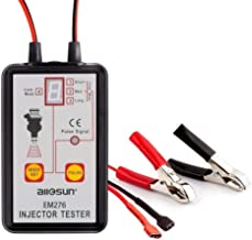 Automotive Fuel Injector Tester - SHGROUP Professional Ignition Fuel Injector Pulse Tester 4 Pluse Modes Powerful Fuel System Scan Tool