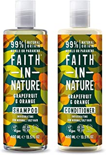 Faith in Nature Natural Grapefruit & Orange Shampoo &