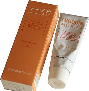 Avalon Pharma AVOQUIN (4% Cream Lightening skin), 50 Gm