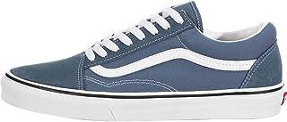 حذاء Vans Old Skool للجنسين - أزرق Mirage / أبيض حقيقي