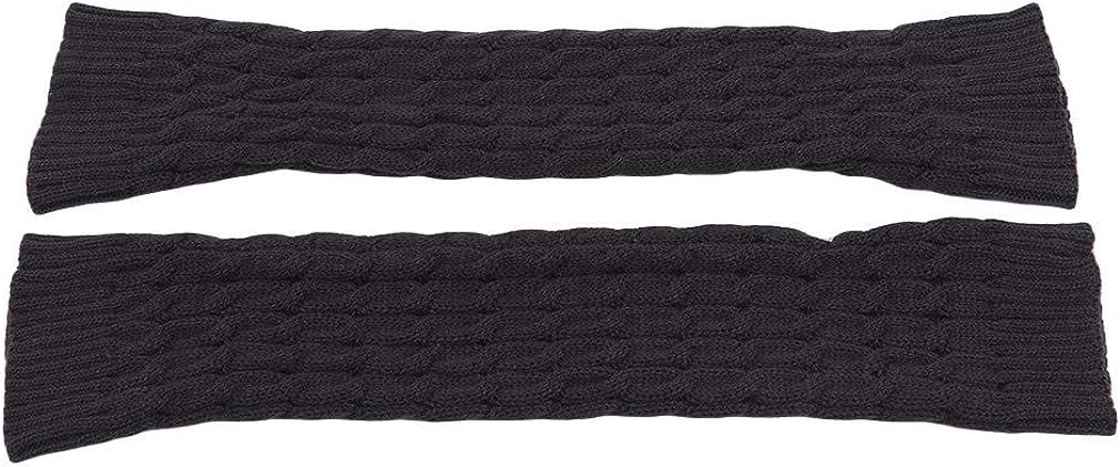 Iumer Women Boot Socks Cuffs Knitted Crochet Short Leg Warmers Winter Boot Toppers For Womens