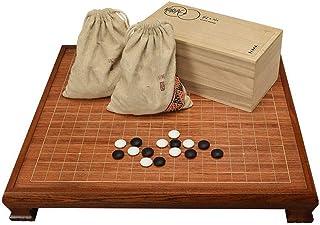 Luckyw Vuxna barn nybörjare höggradigt massivt trä rosenträ schackbord med fötter