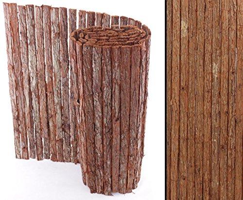 bambus-discount.com Rindenmatte Country Premium-Qualität günstig - 100 x 300cm - Sichtschutzmatte