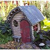 Miniature Fairy Garden Snails Cove w/Hinged Door