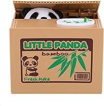 Panda Money Box Coin Bank, automatisch stelen van munten Penny Cents spaarvarken spaarpot kinderen kind cadeau, zonder bat...