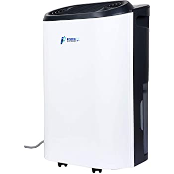 POWER PYE ELECTRONICS ABS 3 In 1 Dehumidifier, Clothes Dryer and Air Purifier (12 L/Day, White)