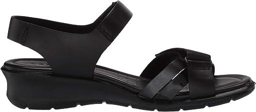 Black/Black Dark Shadow Metallic/Black Cow Leather/Calf Leather/