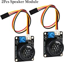 2Pcs Speaker Module, Electronic Building Block Big Speaker Module with PH2.0 to Dupont 3P 20cm Cable Amplifier Music Player for Arduino
