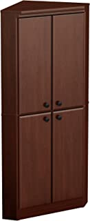 corner armoire with doors