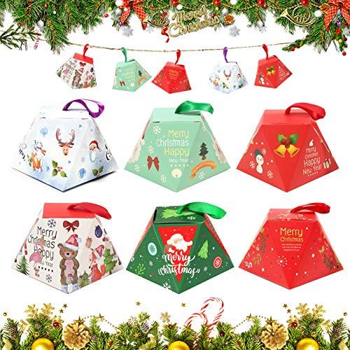 Bolsa de Regalo Navidad,24 Bolsa de Regalo Navidad,Bolsas Papel,Bolsas para Chuches,Calendario Adviento Navidad,Bolsas Regalo Papel,Cajas de Regalo,DIY Bolsa para Regalo,bolsas de papel para