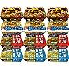 【Amazon.co.jp限定】 明星 焼きそば 4種食べ比べセット 12個入 【セット買い】