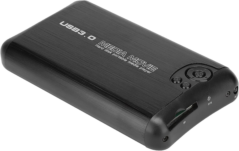 Yoidesu HD Media Player Support/AV Output Box USB Host Function H.264 Decoding Technology Simple Operation(U.S. regulations)