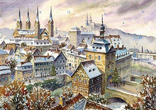 Adventskalender Bamberg - Weihnachtliche Stimmung über der Altstadt