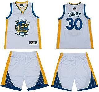 QAZW NBA Basketball Clothes Owen 11 Jersey Celtics, Harden Laker Kobe James 23 Curry,Breathable Suit Male Basketball NBA Summer Breathable Sweat Shirt Jerseys Shorts Sportswear White3-M
