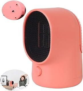 NBMN Mini Calefactor Cerámico Rectángulo 500W Portátil Temperatura Calentador Espacio Protección Seguridad para Dormitorio/Sala Estar/Oficina.