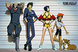"""Cowboy Bebop - Anima / Manga TV Show Poster / Print (Line-Up) (Size: 36"""" x 24"""") (By POSTER STOP ONLINE)"""