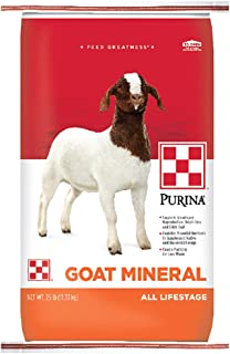 Purina Goat Mineral Goat Supplement, 25 lb Bag