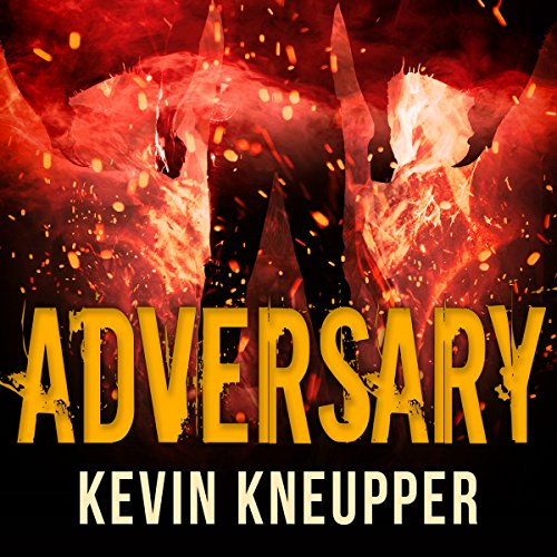 Adversary audiobook cover art