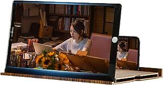 3D Phone Screen Magnifier, 12 Inch Ultra HD Portable Phone Screen Amplifier Desktop Stand, Mobile Phone Magnifier Screen P...