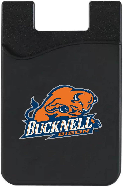 Bucknell University V2 Leather Wallet Sleeve, Black, Classic V1