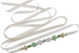 BRIDAL Wedding Belts Bridal Belt Vintage Rhinestone Crystal Belt Wedding Dress Pearl Sash Belt for Women Dress Gown
