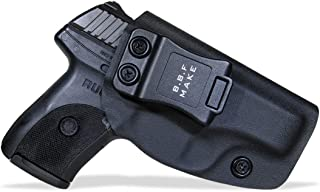 B.B.F Make IWB KYDEX Holster Fit: Ruger LC9 / LC9s / Ruger LC380 / Ruger EC9s | Retired Navy Owned Company | Inside Waistband | Adjustable Cant | US KYDEX Made