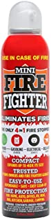 Mini Firefighter All Purpose Fire Extinguisher Classes ABCK Gasoline, Kitchen Grease Oil and Fats, Electric and Wood Fires for Home Apartment Office Student Boat RV Camping, 1-Pack MFF01