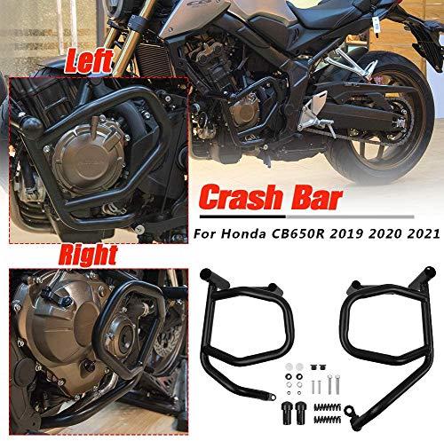 Lorababer Motorrad Motorschutz Sturzbügel Schutzbügel Crash Bar für Honda CB650R CB 650R CB 650 R 2019 2020 2021 Motor Highway Stoßstangenschutz