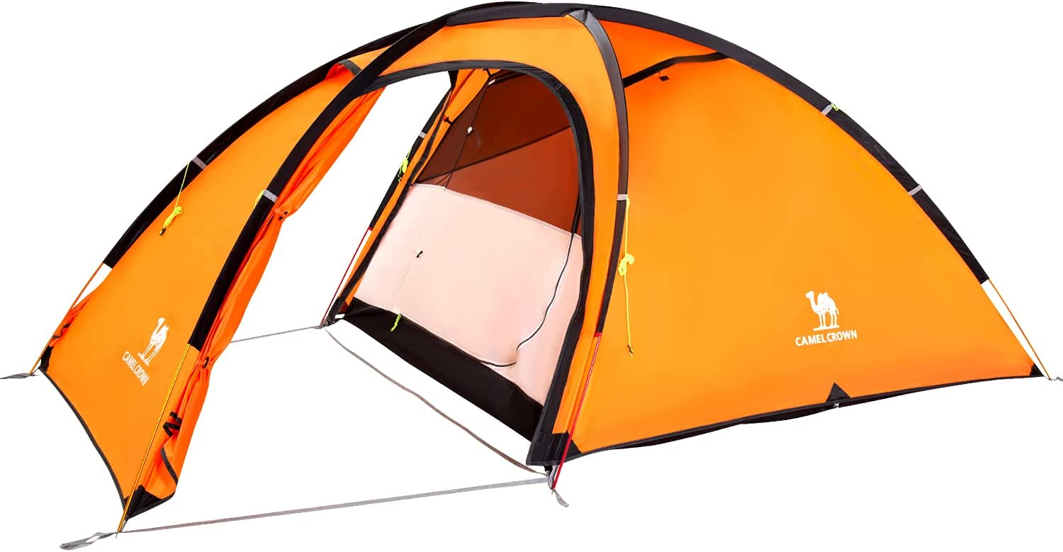 CAMEL CROWN 2-Person-Camping-Tents Waterproof Windproof wi 2021 model Tent Low price