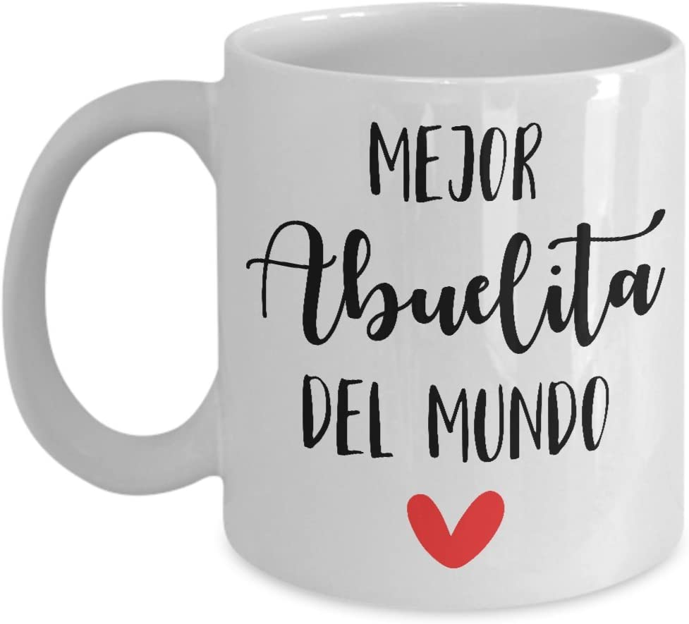 grandma Milwaukee Mall New life coffee mug abuelita for gifts Spanish mothers