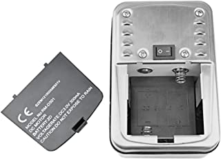 onlyfire Universal Stainless Steel Barbecue Battery Cordless Rotisserie Motor On/Off Switch
