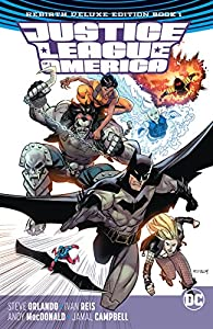 Justice League of America: The Rebirth Deluxe Edition -2018 Book 1 (Justice League of America (2017-2018))