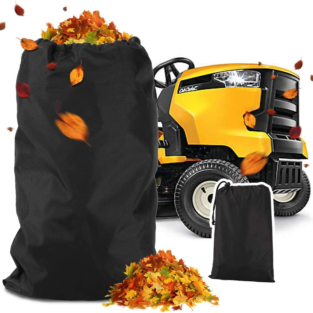 KLOLKUTTA Indefinitely Lawn Mower Sacramento Mall Leaf Bag Tractors Leaves Fits Dur