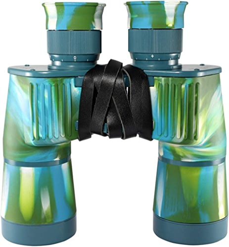 HOUYAZHAN Jumelles de Camouflage Compact HD 7x50 pour Adultes, télescope Pliant avec coordonnées, pour l'observation des Oiseaux en Plein air