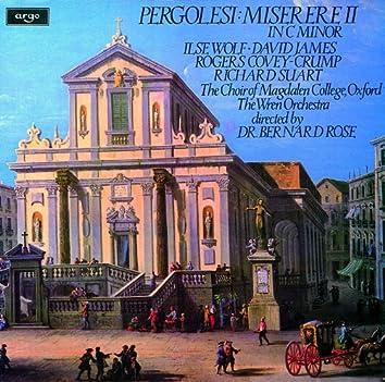Pergolesi: Miserere in C minor