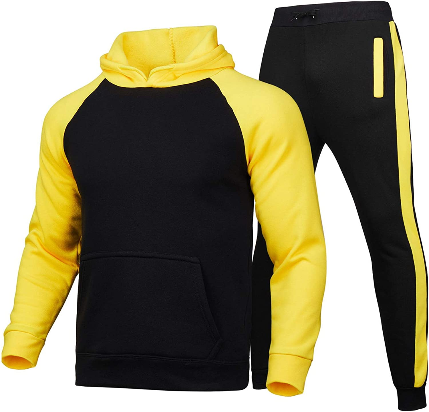 Prubensic Free shipping New Men's Long Sleeve Jogging Sports Casual Max 68% OFF Suit Com Suits