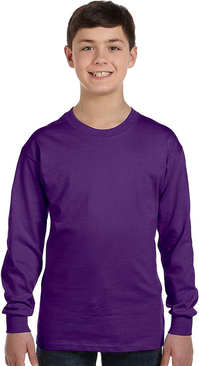 Gildan Heavy Cotton Youth 5.3 oz. Long-Sleeve T-Shirt