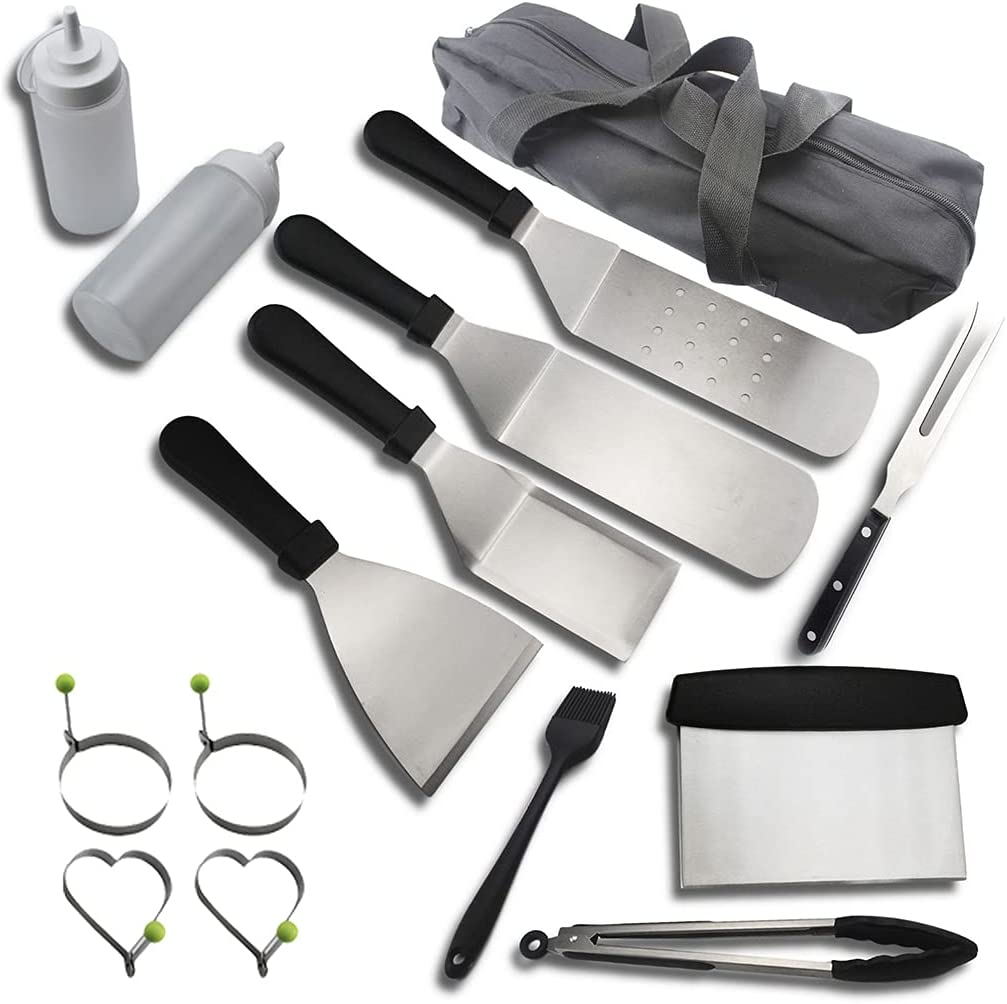 BlingGlow Portable Large special Spasm price price Barbecue Tool Set Complete Storage with Bags