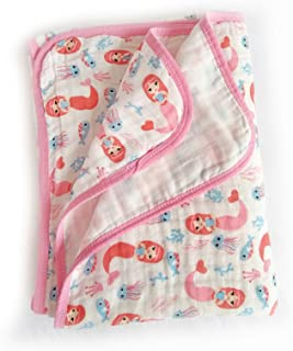 Baby 2-Layer Muslin Swaddle Blanket, 39