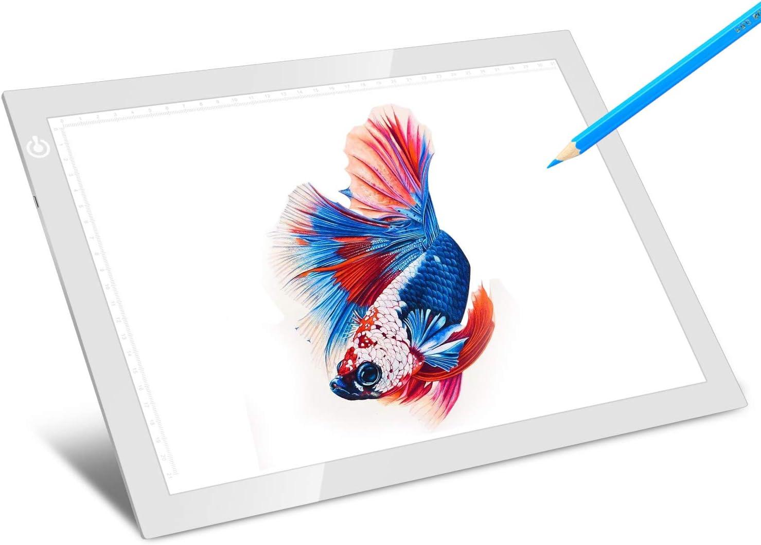 LITENERGY Portable A4 Tracing LED Copy Box Super-cheap Silver Light Max 67% OFF U Board