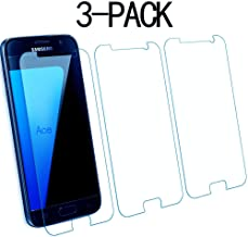 Galaxy S7 Screen Protector,Acedining Tempered Glass Screen Protector for Samsung Galaxy S7,[NOT S7 Edge] (3-Pack)(Clear)(5)