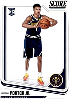 2018-19 Panini Score #697 Michael Porter Jr. Denver Nuggets Rookie Basketball Card