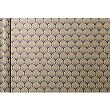 Clairefontaine Papel de envolver Kraft, 5 x 0,35 m, hojas azules