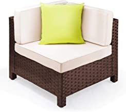 London Rattan Outdoor Modular Furniture, Brown