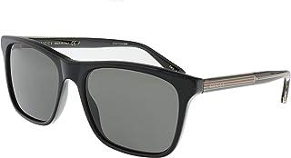 Gucci Men's Sunglasses Square GG0381S Black/Grey