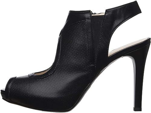 Nero giardini tronchetto stivali   donna in pelle E011015DE 100