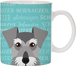 Adorable Dog Breed Specific 11oz Ceramic Coffee Mug (Schnauzer)