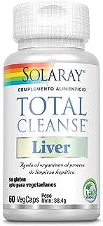 Solaray Total Cleanse Liver | Cardo mariano. diente