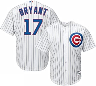 Outerstuff Kris Bryant Chicago Cubs #17 Youth Home Jersey White